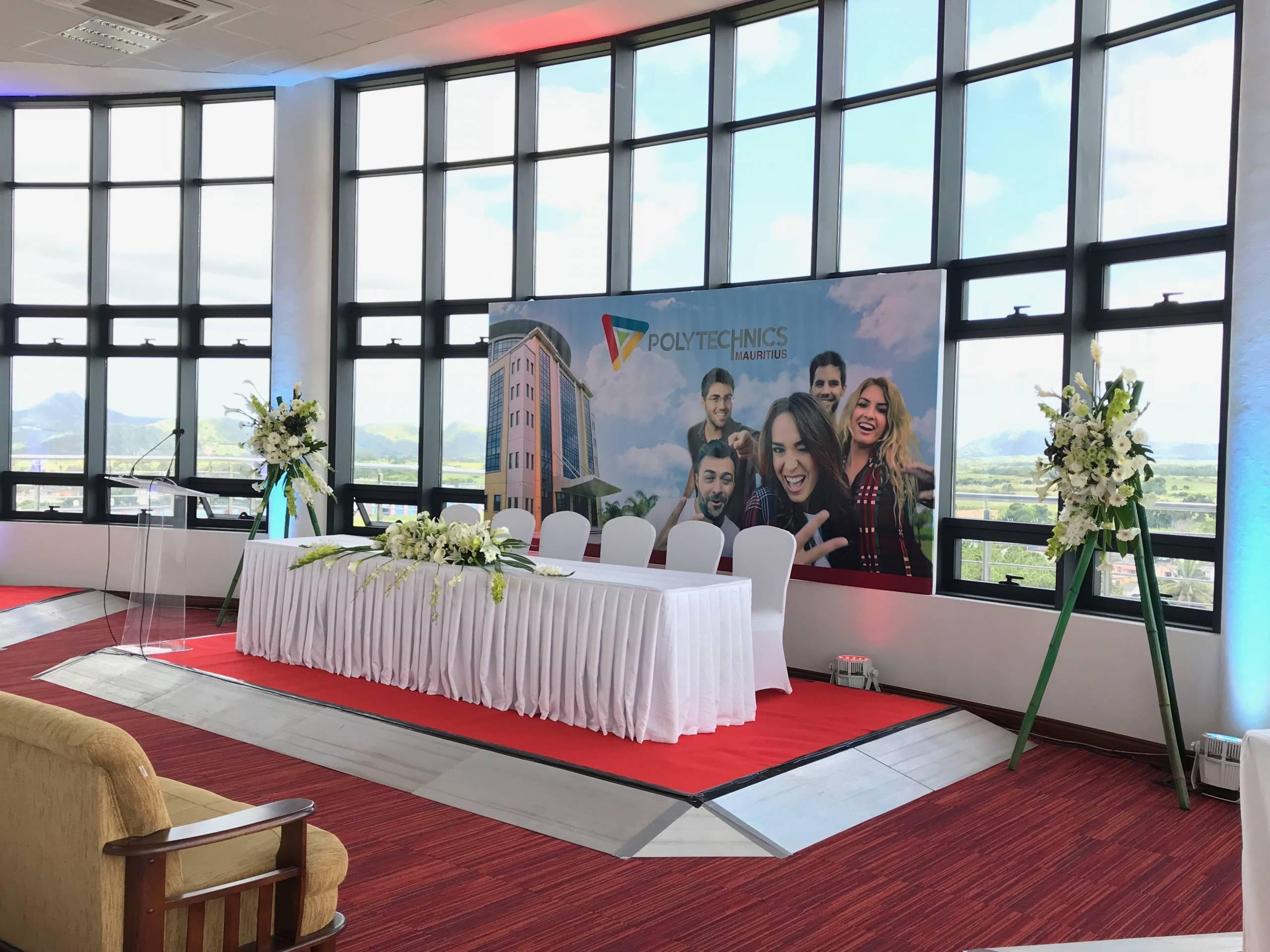 Polytechnics Mauritius event